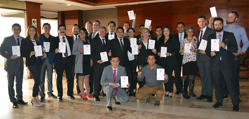 Sommeliers aprobaron curso introductorio de la Court of Masters Sommeliers 2016.